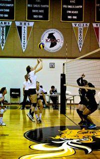 Sarah volleyball