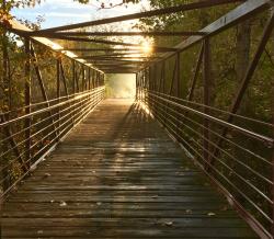 Sun end of bridge 4